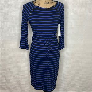 Motherhood Maternity Striped Dress Size Small NWT